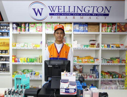 Wellington Pharmacy ဆေးဝါးများကို G&G ဆိုင်အချို့မှာ ဝယ်ယူနိုင်ပါပြီ။