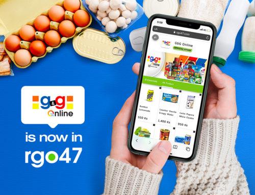 rgo47 မှာ G&G Online Store လေး ရှိနေပါပြီ